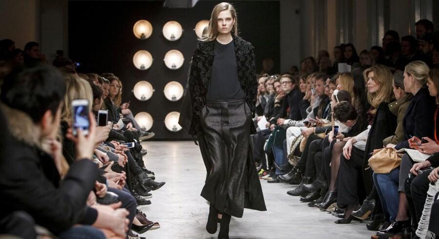 Copenhagen Fashion Week. Bruuns Bazar. Torsdag d. 30. januar 2014.