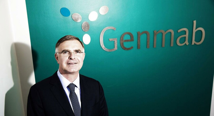 »Vi er glade for resultaterne fra dette studie,« siger Genmabs koncernchef Jan van de Winkel.