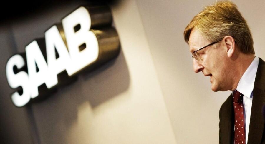 Jan Åke Jonsson - tidligere topchef for bilfabrikken SAAB Automobile.