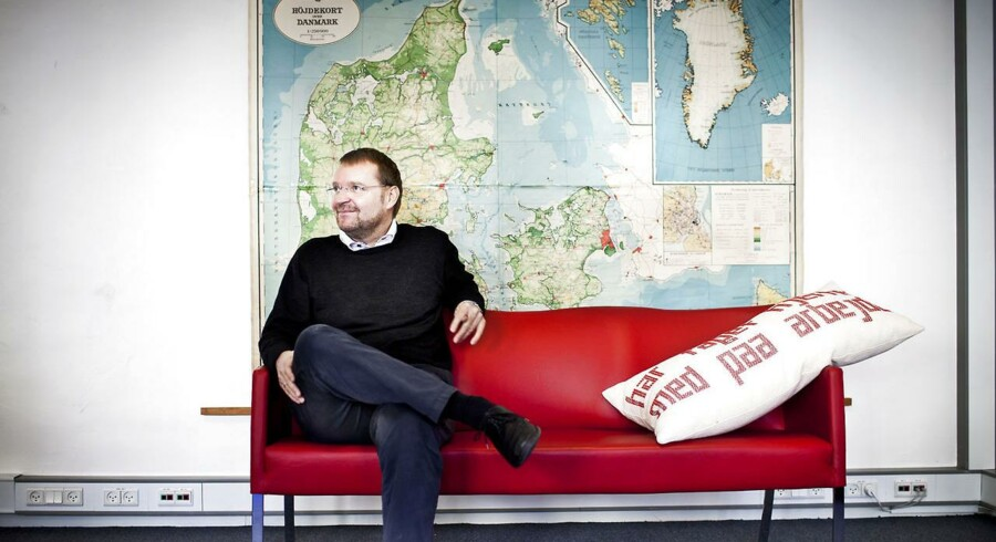 Kaare Danielsen, der er stifter, og administrerende direktør, af JobIndex.