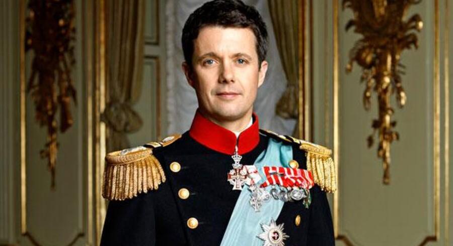 ARKIVFOTO: Kronprinsens officielle portræt.