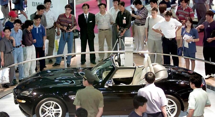 Kineserne er vilde med europæiske luksusbiler, og det har ført til kronede dage hos tyske BMW.