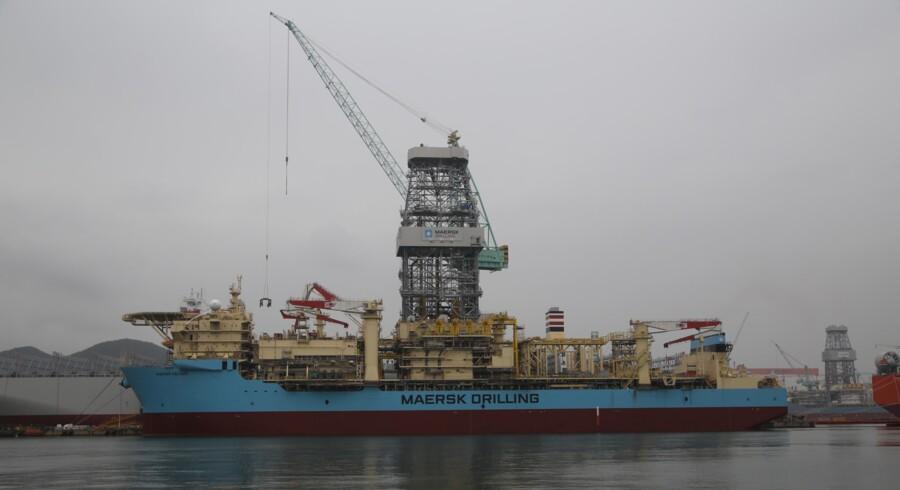 På de nye boreskibe fra Maersk Drilling er der en sikkerhedsventil, som skal tage overtryk og være med til at forhindre ulykker i stil med det gigantiske olieudslip i Den Mexicanske Golf fra platformen Deepwater Horizon i april 2010.