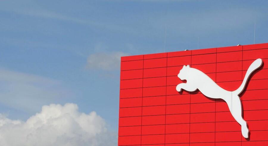 Den tyske sportsgigant Pumas hovedkvarter i Herzogenaurach i Sydtyskland.