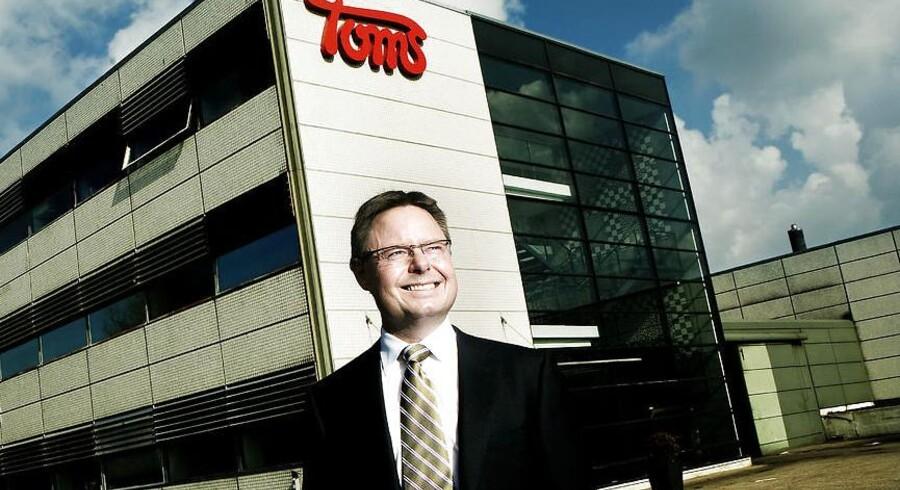 Toms-gruppens koncernchef Jesper Møller