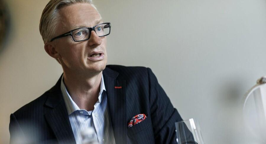 Direktør for Tryg-koncernen,Morten Hübbe.