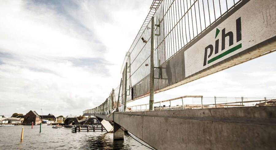 Den mest spektakulære konkurs i 2013 stod den gamle entreprenørkæmpe, Pihl & Søn, for
