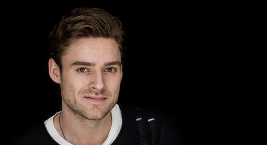 Skuespiller Johannes Nymark er aktuel i »Steppeulven«, der har biografpremiere 19. februar.