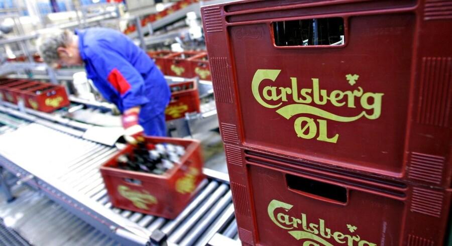 ARKIVFOTO. Carlsberg forsøger desperat at lancere nye produkter uden for øl-kategorien, men indtil videre er det kun cideren Somersby, som bryggerikoncernen har haft stor succes med.