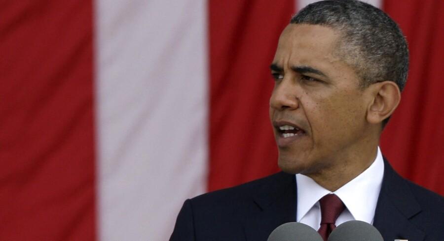 Præsident Barack Obamas vækstpakke på omkring 700 mia. dollar i 2009 var med til at lægge en bund under krisen. Foto: Jonathan Ernst/Reuters