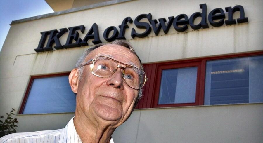 Ikea-stifter Ingvar Kamprad.