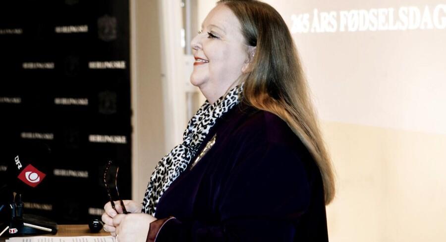 Berlingske Media er selv blevet solgt i 2014 til belgiske De Persgroep. Her er ses direktør Lisbeth Knudsen inden salget.