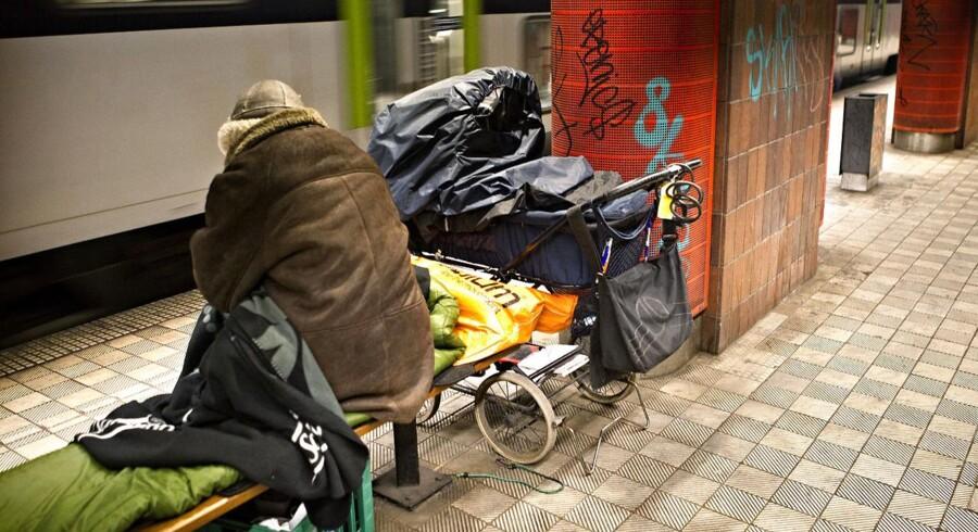 VOSA skulle angiveligt hjælpe bl.a. hjemmeløse med bedre forhold.