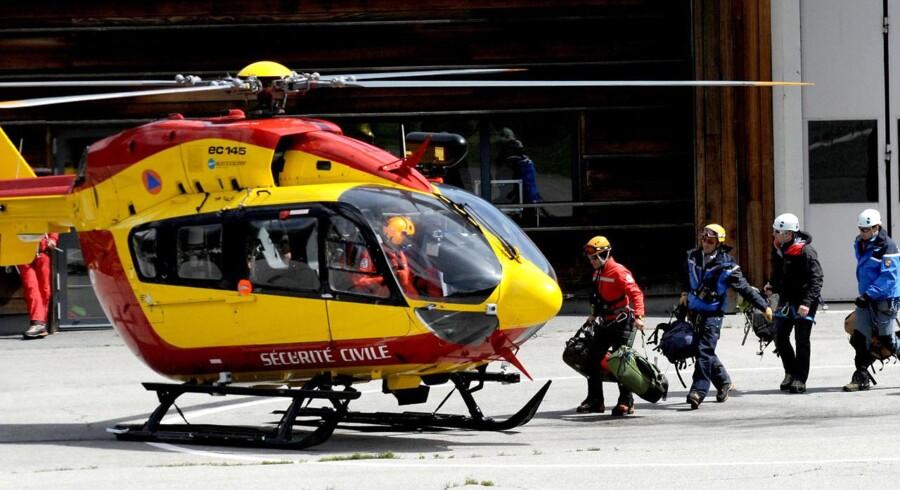 Endnu to bjergbestigere er omkommet på Mont Blanc. De blev fundet få timer efter mindehøjtidelighed for bjergbestigere, der døde i lavine i de franske alper tidligere på ugen.