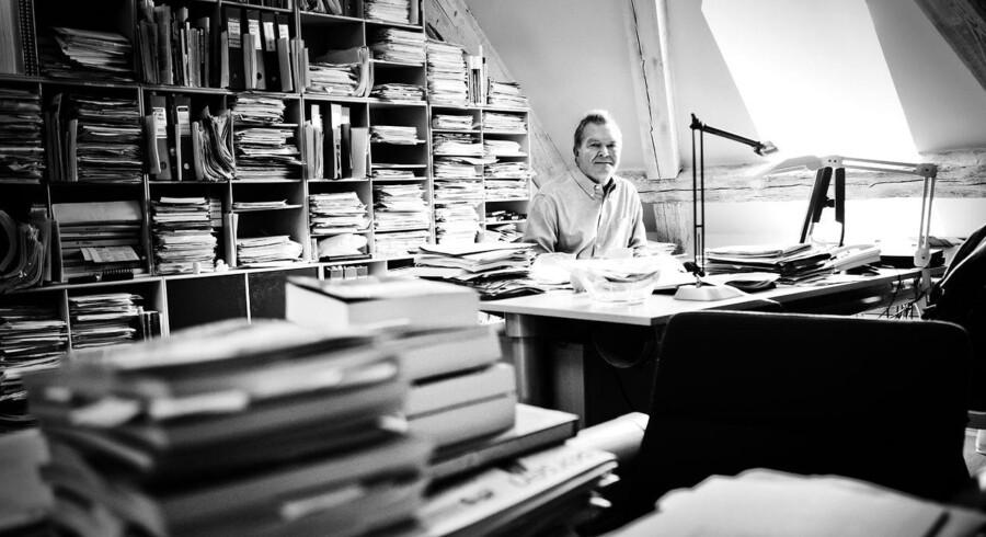 Da Enhedslistens Frank Aaen var folketingsmedlem, manglede der ikke rapporter, papirer og aviser på hans lille kontor på Christiansborg.