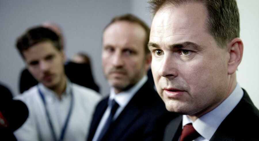 Fredag mødtes forsvarsminister Nicolai Wammen med sin amerikanske kollega, forsvarsminister Chuck Hagel.