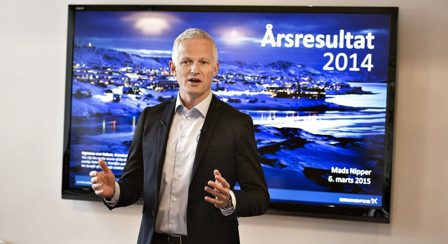 Grundfos' topledelse mødtes tirsdag med selskabert 160 øverste ledere for at kickstarte den 2020-strategi, som Mads Nipper præsenterede i forbindelse med årseregnskabet 2+14 i sidste måned. Det sker i Billund.