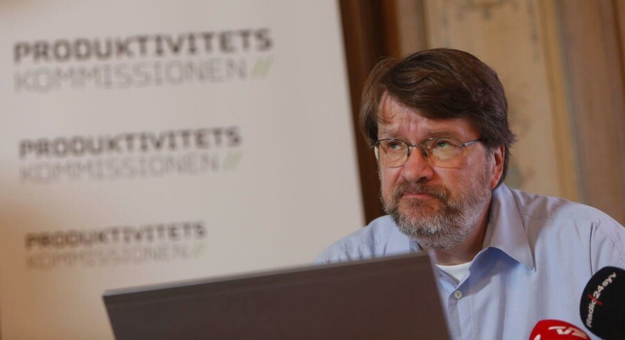 Peter Birch Sørensen, formand for produktivitetskommissionen