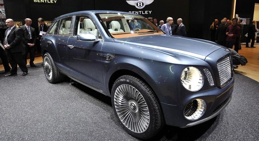 Bentleys kommende luksus-SUV skal efter sigende bygges på konceptbilen EXP F9, som blev præsenteret i Geneve sidste år.
