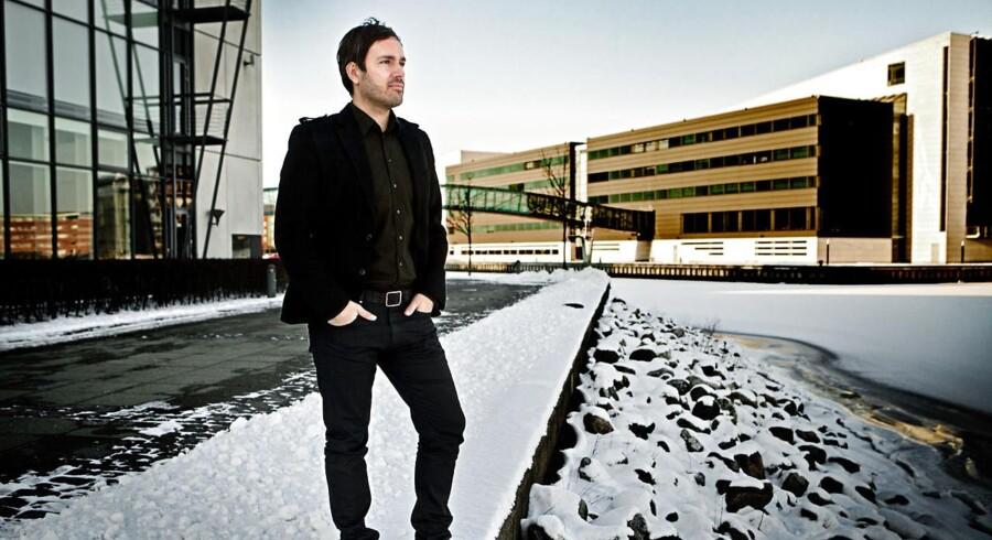 Martin Ferro-Thomsen er en af idémændene bag protestsiden WeStart.dk. Når han ikke samler underskrifter i cyberspace, står han bag iværksættervirksomheden Conferize.