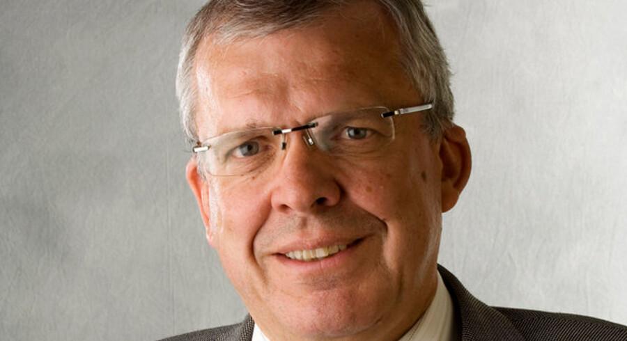 Landbobankens direktør, Bent Naur, står i spidsen for en af Danmarks absolut mest velpolstrede banker.