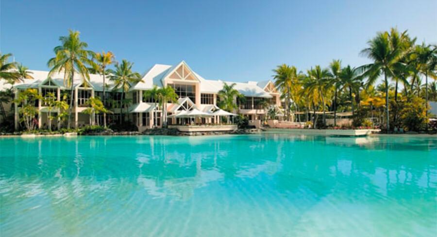 Med 10 hektar pool og en lagune har de fleste værelser på Sheraton Mirage udsigt til vand.