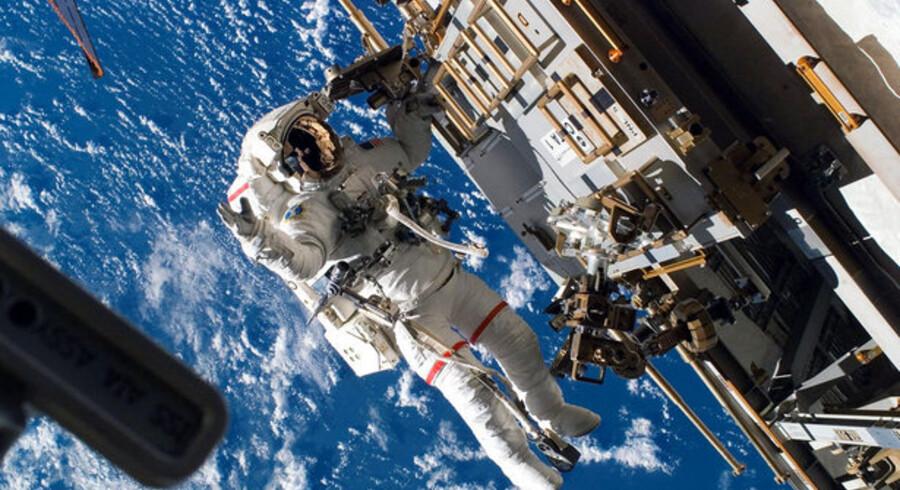Den Internationale Rumstation er blevet ramt af computervirus. Foto: AFP/NASA/Scanpix