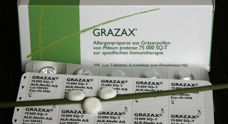 Grazax levede ikke helt op til forventningerne.
