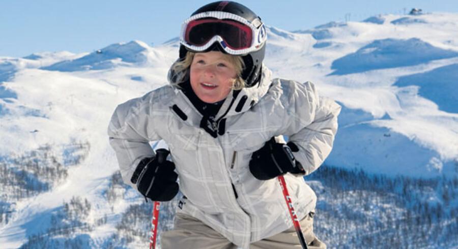 Hemsedal er også meget populært blandt de danske skiløbende danske familier – De har allerede fundet ud af, at her satses på børnevenligt skiløb.