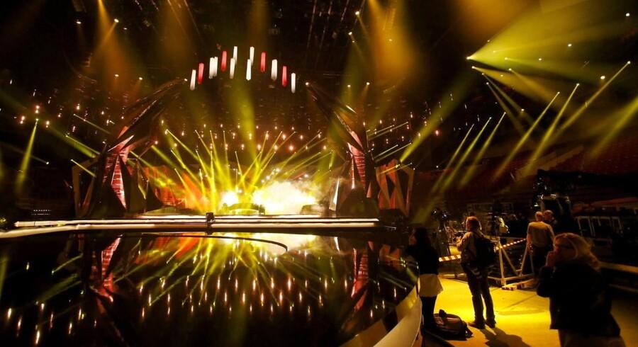 Malmø Arena, hvor musikkonkurrencen skal afholdes.