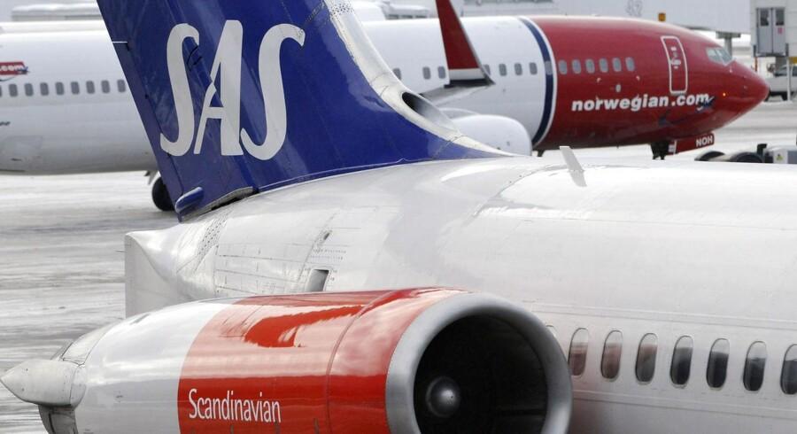 Norske Norwegian har overhalet SAS, når det kommer til punktlighed.
