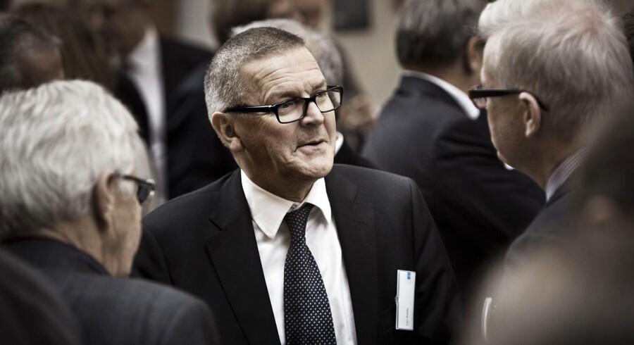 Nationalbankdirektør Lars Rohde fotograferet på årsmødet i 2012.
