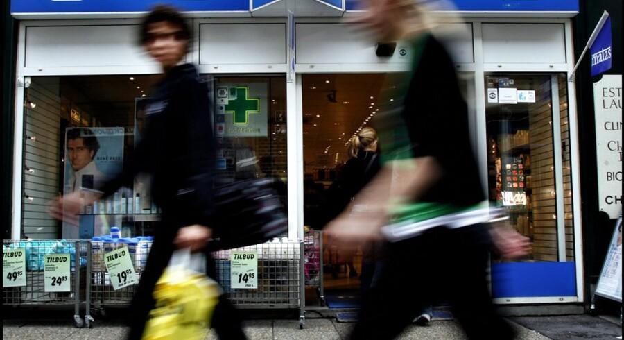 Bankerne bag børsnoteringen af Matas ophører nu med deres støtteprogram. Foto: Liselotte Sabroe
