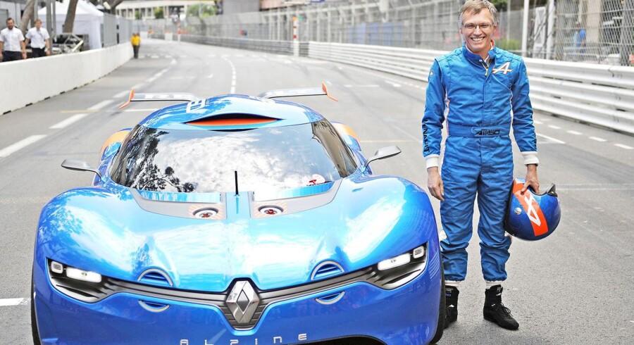 Carlos Tavares foreviget i Monte Carlo sidste år ved præsentationen af Renaults nye Alpine A 110-50, der markerer 50 året for den første Renault Alpine A 110, der i dag har ikonstatus.