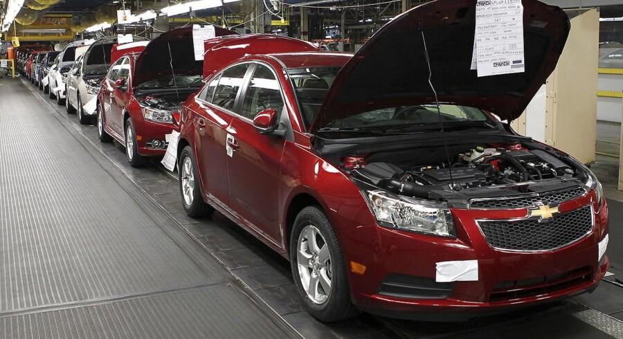 Billige modeller som Chevrolet Cruze har været medvirkende til at bringe General Motors på ret køl igen, men en fejl på fabrikken i Ohio kan give ridser i lakken.