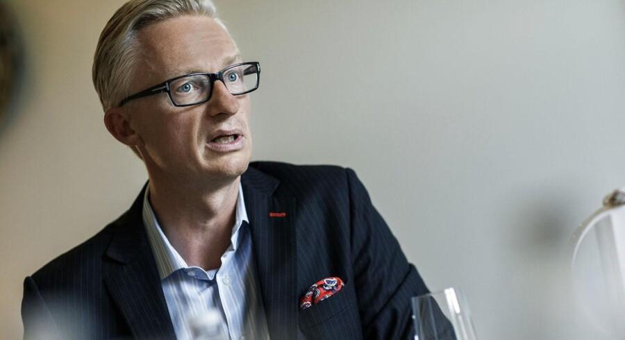 Tryg-direktør Morten Hübbe offentliggør regnskabstal for tredje kvartal torsdag morgen.