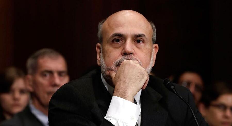 Hvornår er den amerikanske vækst så stabil, at finansmarkederne kan passe sig selv? Det er det svære spørgsmål, som centralbankchef Ben Bernanke må stille sig selv.
