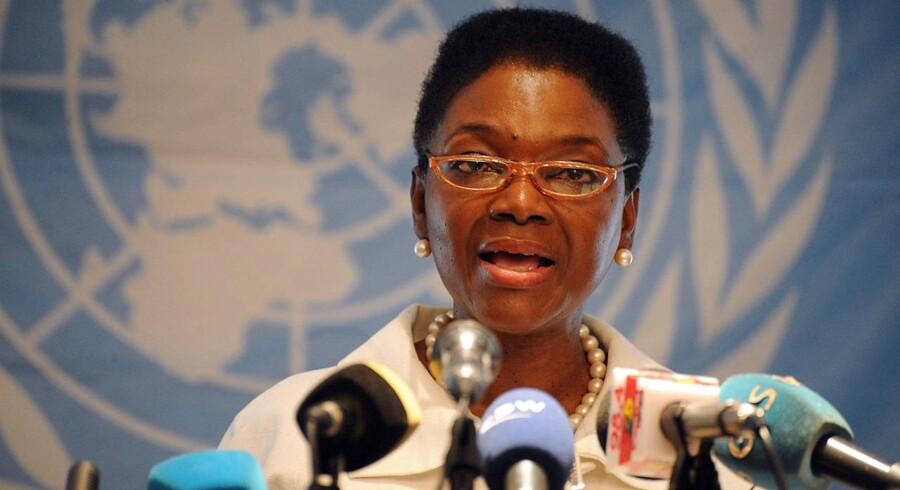 FNs humanitære chef, Valerie Amos, kan ikke få indrejsetilladelse i Syrien