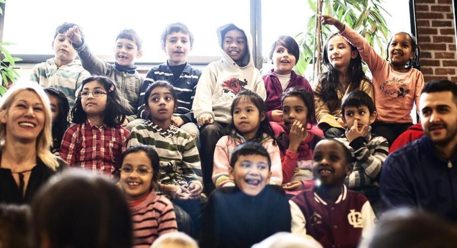 Arkivbillede. De Radikale i København vil have arabisk på skoleskemaet i de københavnske folkeskoleklasser.