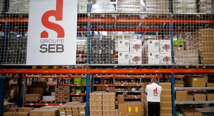 Franske Groupe SEB fabrikken i Mayenne. REUTERS/Stephane Mahe