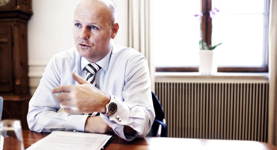 Tonny Thierry Andersen, chef for Danske Bank i Danmark, hæver renten på visse udlån.