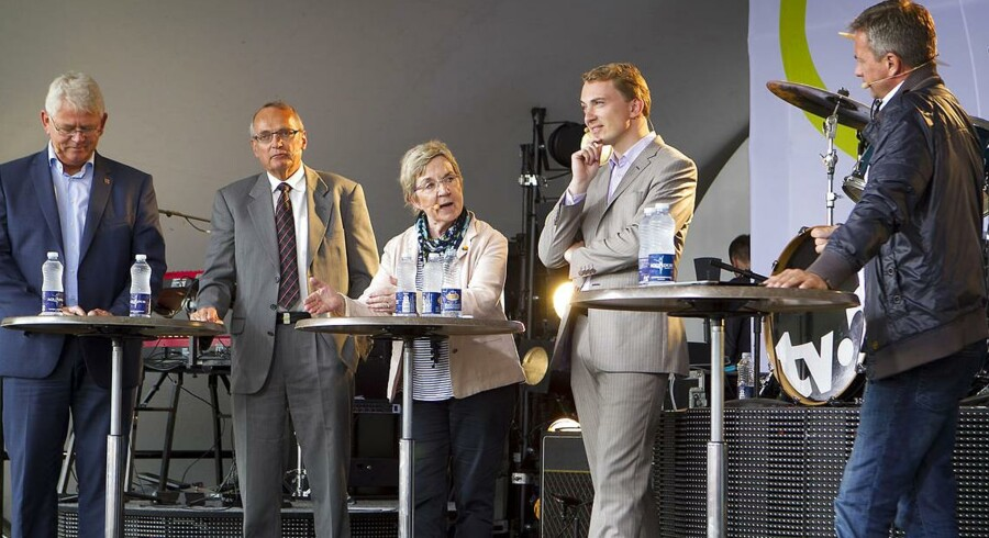 Der er rig mulighed for politikerne til at netværke på det årlige folkemøde på Bornholm.