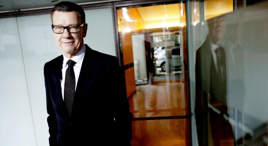 Koncernchef Henrik Heideby, PFA Pension, lægger pres på konkurrenterne for at få dem til at tilbyde kunderne bonus for at opgive deres garantier.