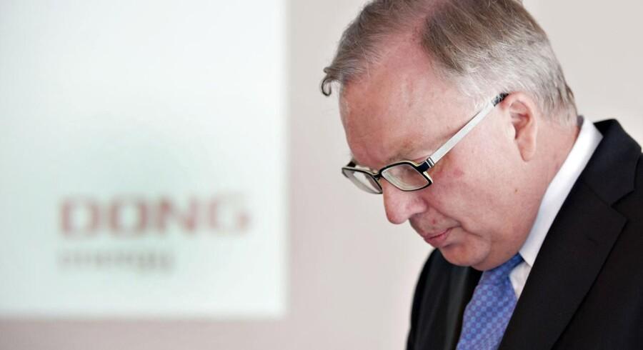 Fritz H. Schur forlader bestyrelsesformandsposten i DONG i marts