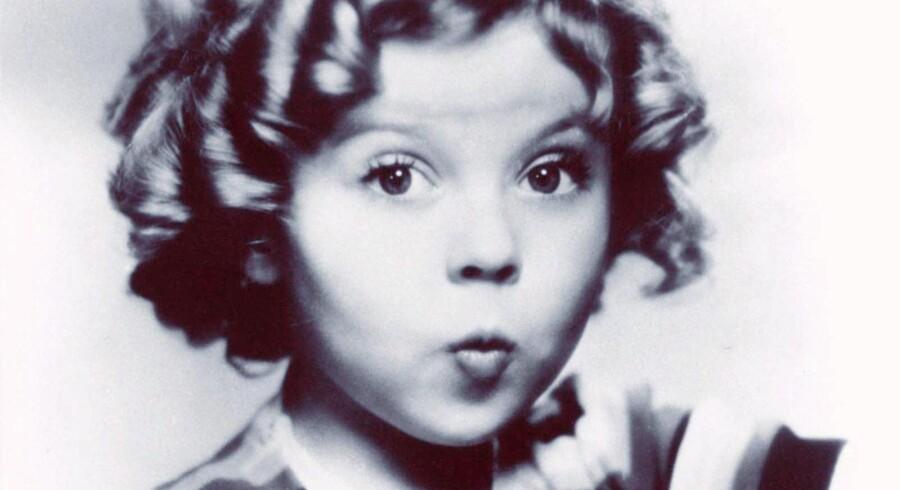 Shirley Temple på toppen af sin popularitet.