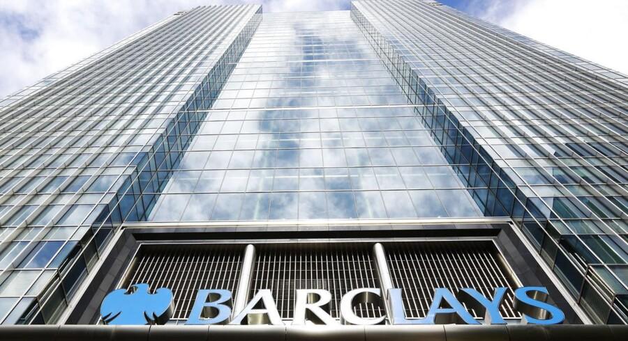 Barclays' hovedkvarter i det østlige London. Banken bliver stadig beskyldt for uanstændig opførsel op til og under finanskrisen.