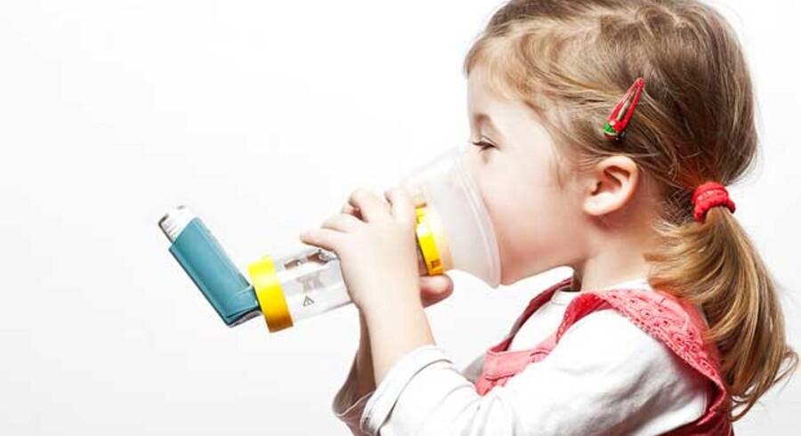 Når luftforureningen stiger, bliver flere børn med astma indlagt på hospitalet, viser ny undersøgelse.