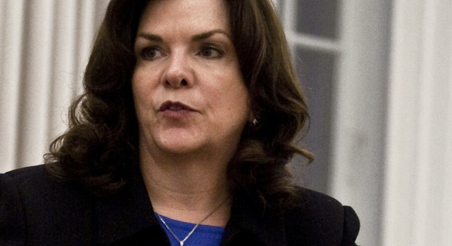 Lisa Drakeman er gået som topchef i Genmab, og det undrer Sydbank.