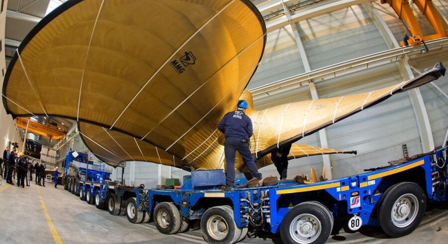 Skibsskure fra Metallguss GmbH i den tyske by Waren