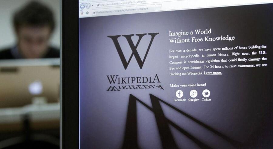 Wikipedia-aktiviteter kan bruges som investeringsværktøj. Det indikerer et amerikansk studie.